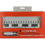 Titanium Innovations 16 bay battery charger in box